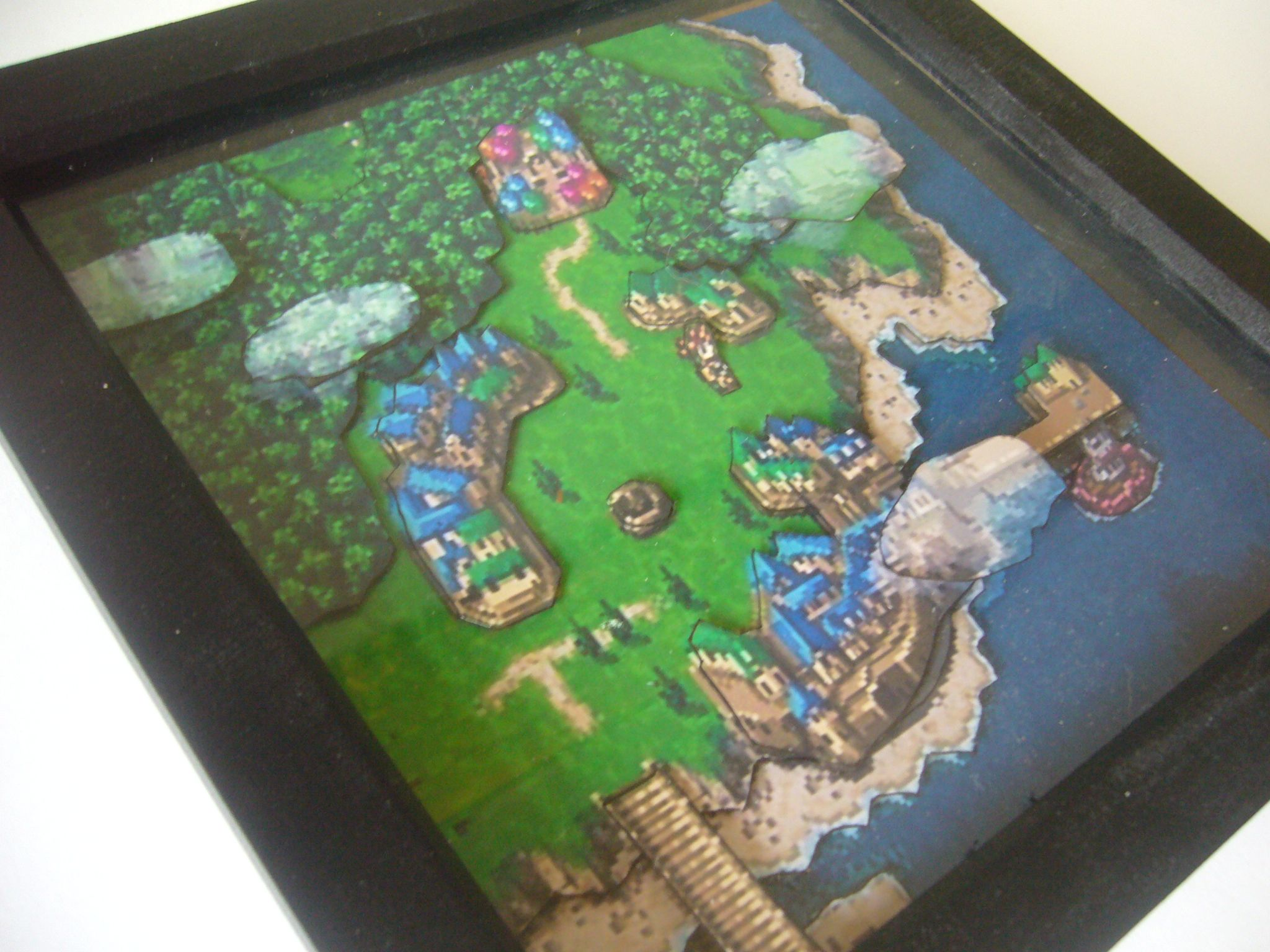Chrono Trigger World Map 3D Diorama Shadow Box on dragon age: inquisition map, dragon warrior vii map, animal crossing map, alex kidd in miracle world map, conker's bad fur day map, chrono cross map, pillars of eternity map, tales of hearts map, fire emblem map, grand knights history map, mighty bomb jack map, the elder scrolls v: skyrim map, mortal kombat x map, super ghouls 'n ghosts map, kingdom hearts birth by sleep map, baldur's gate ii map, grand theft auto: san andreas map, assassin's creed unity map, drakengard map, earthbound map,